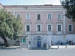L'ingresso della casa circondariale di Campobasso