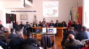 La lista capeggiata da Donato D'Ambrosio, candidato sindaco a Santa Croce di Magliano