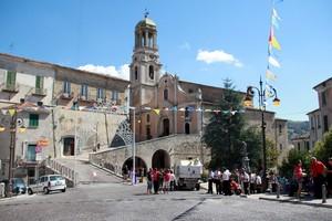 La piazza di Ripalimosani