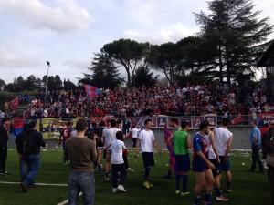 I 700 tifosi del Campobasso a Firenze