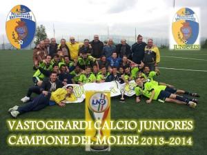 Il Vastogirardi campione regionale juniores 2013/2014