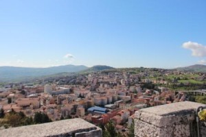 Campobasso vista dal Castello Monforte