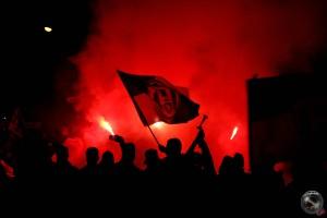 La festa per il 30° scudetto della Juventus a Campobasso