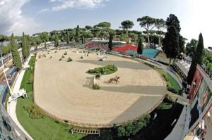 La location di Villa Borghese