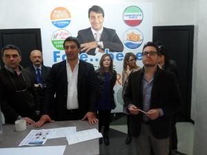Michele Scasserra durante la conferenza stampa