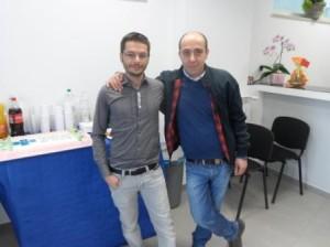 I medici veterinari, Mariano Spensieri e Pietro Angiolilli