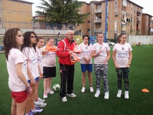 Un momento della Women's Football Day