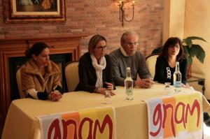 Un momento della presentazione del progetto Gnam