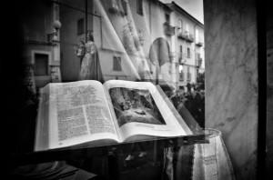 La foto che ha vinto l'edizione 2013 del concorso fotografico legato all'Infiorata di Campobasso