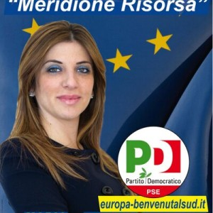 La candidata alle Europee Maria Saladino