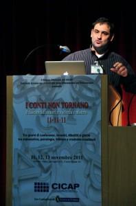 Luca Menichelli, presidente del Cicap Abruzzo-Molise