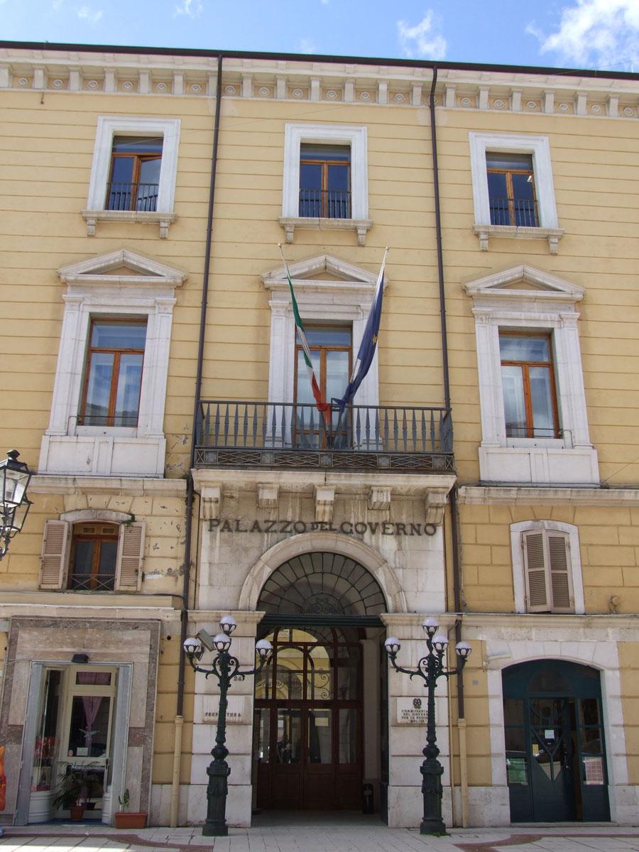 Il Palazzo della Prefettura di Campobasso