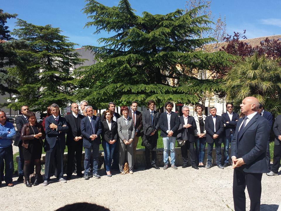 Photo of Tra neofiti e veterani, Battista presenta la squadra del Pd