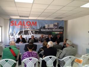 Un momento della presentazione della 22^ edizione dello slalom 'Città di Campobasso'