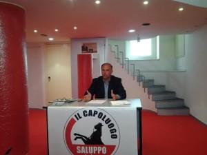 Il candidato sindaco indipendente Giuseppe Saluppo