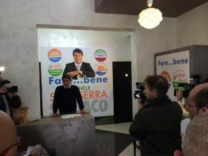 Michele Scasserra in conferenza stampa