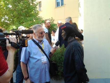 Il giornalista Massimo Dalla Torre intervista il Diavolo dei Misteri