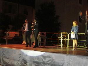 Vincenzo Cosco tra Giuseppe D'Uva e Fabiola Minadeo
