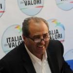 Antonio Di Pietro, presidente onorario dell'IdV