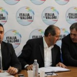 La conferenza stampa di Antonio Di Pietro