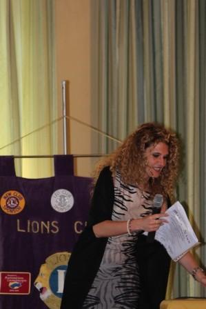 Lions club e mario pagano insieme per la lotta ai tumori
