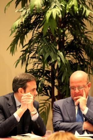 Il Governatore Frattura e il Rettore Palmieri