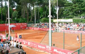 at tennis