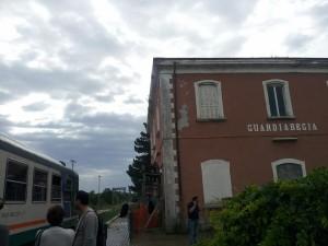 Il treno fermo a Guardiaregia per un guasto