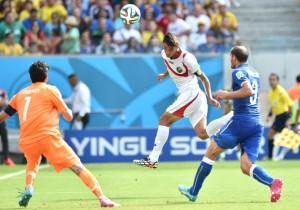 Il gol vittoria del Costarica