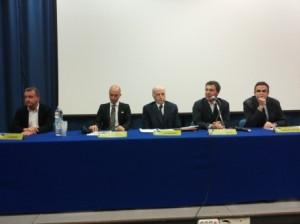 Un momento del seminario, tenutosi nell'Aula Magna della Facoltà di Giurisprudenza
