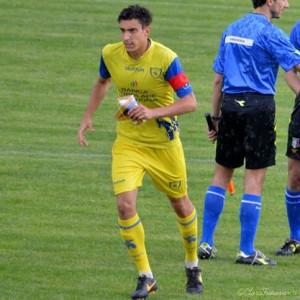 Il campobassano Kevin Magri, capitano e difensore centrale del Chievo Verona
