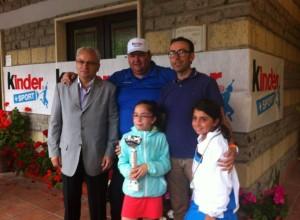 Foto di gruppo con la vincitrice Federica Papa