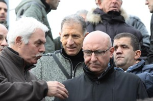 Il presidente Antonio Melloni con il patron Rocco Sabelli