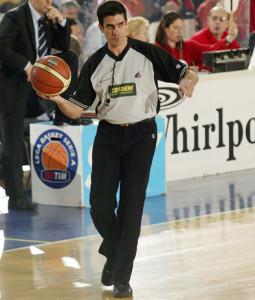 L'arbitro internazionale Enrico Sabetta