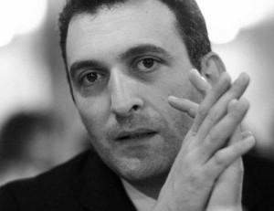Lo scrittore Sante Biello
