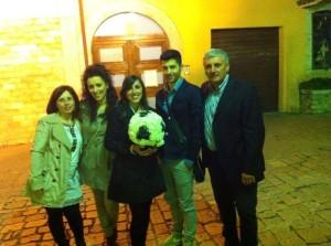L'autore Donato Tronca e la sua famiglia
