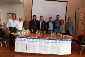 Gli ospiti presenti alla tavola rotonda organizzata dall'Inter Club 'Javier Zanetti' di Santa Croce di Magliano