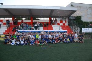 I bambini al 'Ventimila' hanno preso parte a un torneo di calcio