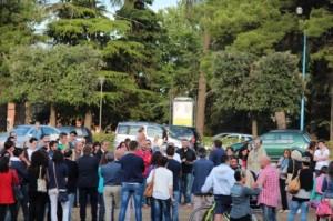 "11-07-2014 flash mob ""RiprendiAMOci l'ex Romagnoli"""