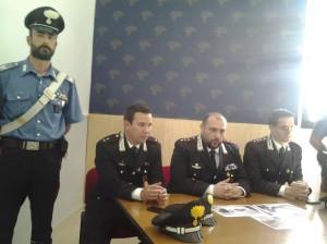 La conferenza dei Carabinieri di Campobasso