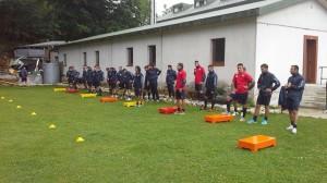 cb calcio allenamento