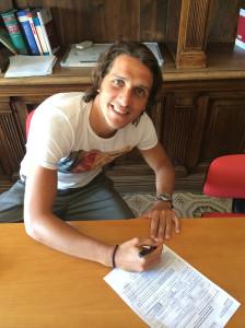 La firma di Francesco Di Gennaro