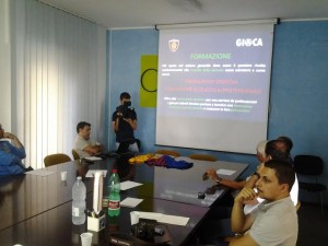 La conferenza di presentazione del progetto 'Gioca'
