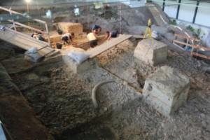 le attività di scavo nel corso del 2014