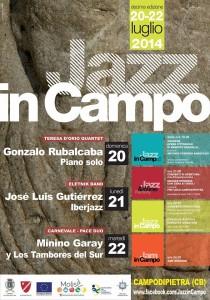 La locandina di 'Jazz in Campo'