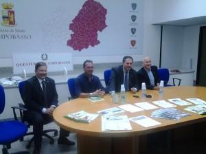 La conferenza stampa tenutasi in Questura a Campobasso