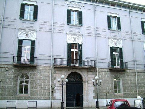 La sede della Provincia di Campobasso
