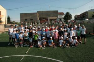 I baby tennisti che hanno partecipato alla tappa del FIT Junior Program a San Martino in Pensilis