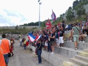 I tifosi del Campobasso a Trivento