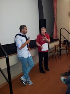 La Barbera interroga il regista De Luca